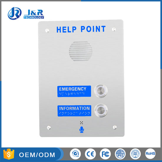 Rugged Stainless Steel 3G / GSM Emergency Call Box, Handsfee Metro Help Point pictures & photos