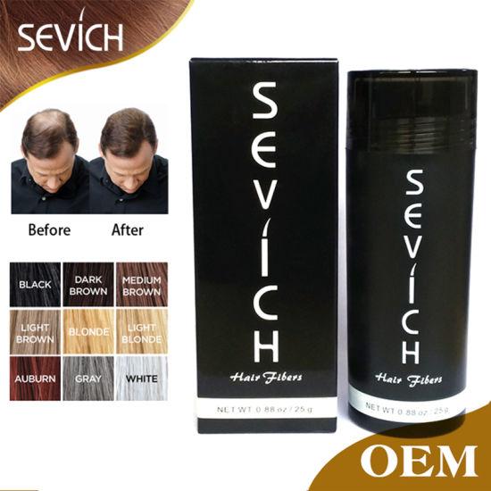 Factory Private Label Best Keratin Hair Building Fiber