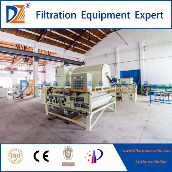 Hiph Performance Belt Filter Press Intergrated with Drum Thickening System pictures & photos
