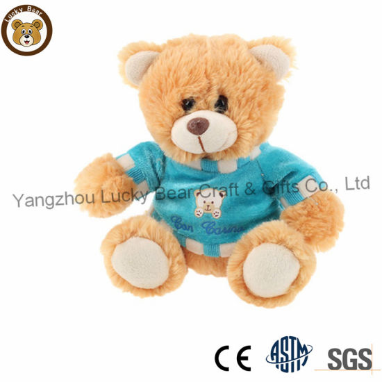 b88e5284795 Factory Custom Cheap Sitting Plush Teddy Bear with T-Shirts. Get Latest  Price
