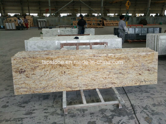 Luxury Yellow Granite Countertop Standard Size