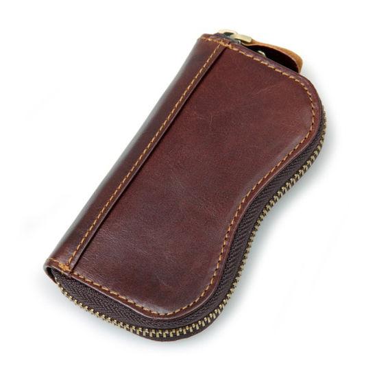 High Quality Custom Key Holder Organizer Genuine Leather Key Case
