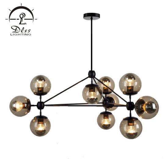 Vintage Replica Modern Modo Hanging Lighting Decorating Home Gl Ball Chandelier