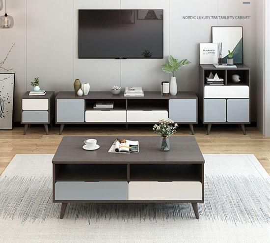 [Hot Item] TV Cabinet Coffee Table Set Nordic Bedroom TV Cabinet Master  Bedroom Modern Simple Living Room TV Cabinet