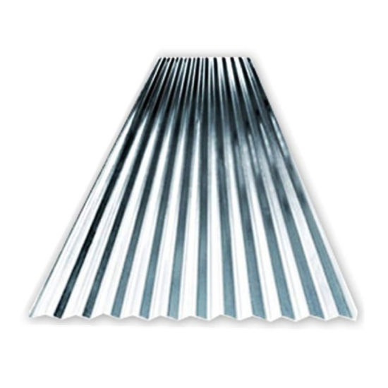 Hot DIP Galvanized Long Span Roofing Steel Sheet
