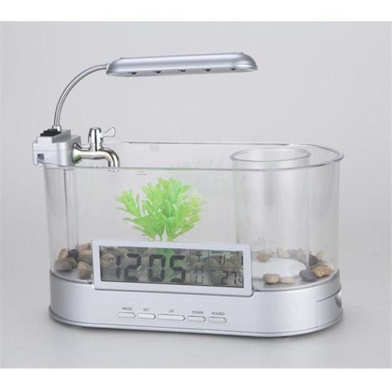 Kw2012a Diy Decorative Table Top Acrylic Marine Fish Tank