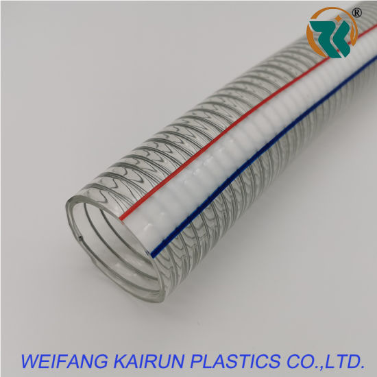 """Flexible and Clear Water PVC Hose 50mm (2"""") X50m"""