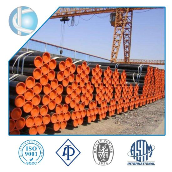 API 5L/ ASTM A53 Gr. B Seamless Steel Tube and Pipes Used for Petroleum Pipeline/ Oil Seamless Steel Pipes Factory