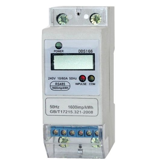Single Phase DIN Rail Electricity Meter for Different Country