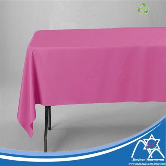Tablecloth Made of PP Spunbond Nonwoven Fabric, Nonwoven Disposable Tablecloth