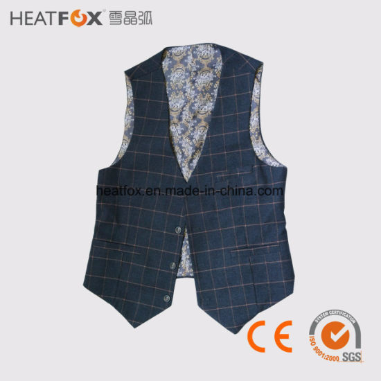 China Winter Vest For Man Outerwear Far Infrared Heated Business