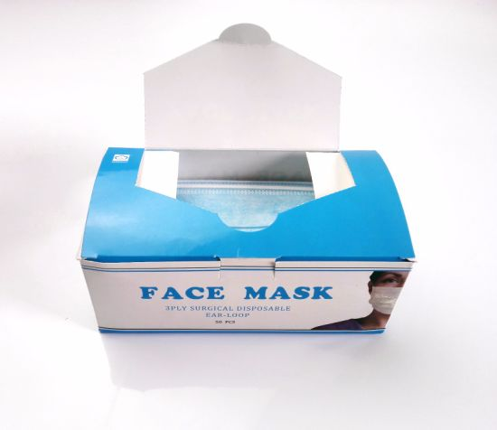Daily Use Health Care Nonwoven Medical Surgical 3ply Face Mask pictures & photos