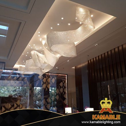 Modern Customize Chandelier Decorative Hanging Crystal Lighting (KA202017) pictures & photos