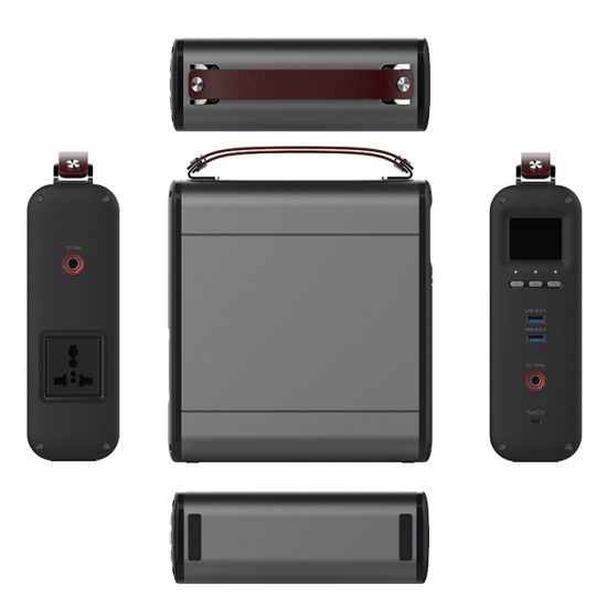 Carry200 Big Capacity Portable Power Station 200wh with USB, DC, AC110V Output, Solar Power Recharging Available