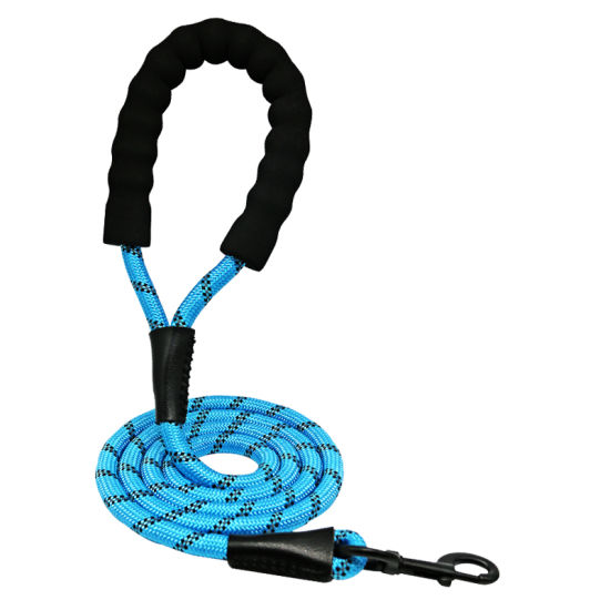Reflective Durable Material Dog Training Leash Lead, Small and Large Size Nylon Dog Slip Lead