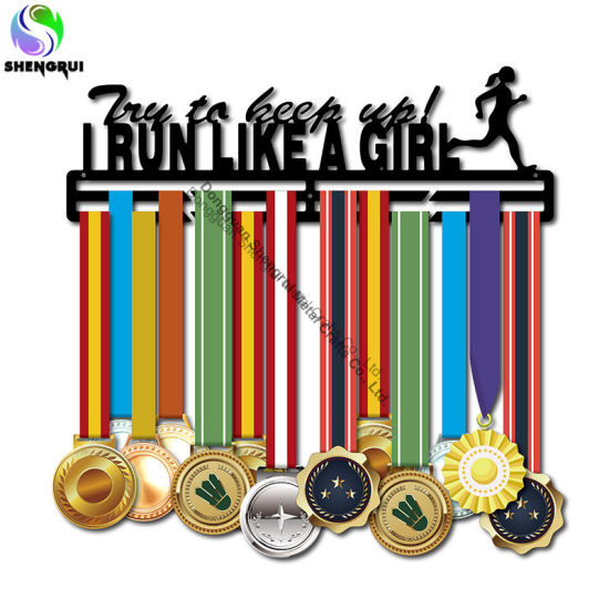 Sturdy Metal Medal Hanger Heavy Duty Medal Display Holder for Running
