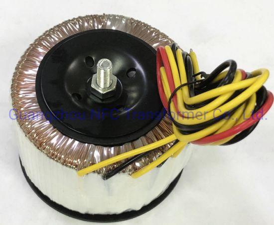 High Efficiency Single Phase Toroidal Transformer for Medical Euqipment