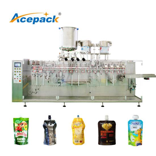 Premade Aluminum Bag Packaging Machine for Viscous Liquids Packing