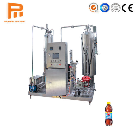 SUS304 Beverage Mixer Energy Drink Gas Water Processing Production Line Mixing Machine pictures & photos