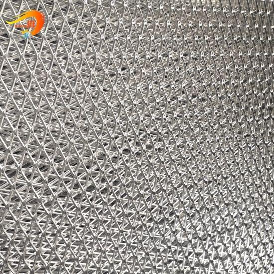 Metal Wall Panel Decorative Material Aluminum Expanded Mesh Facade
