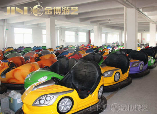 Zhongshan Jinbo Good Quality Electric Car Funfair Theme Park Amusement Rides