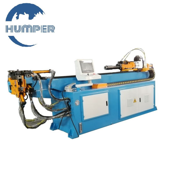 """1.5"""" Inch Hydraulic CNC Pipe Tube Bending Machine Automatic Pipe Bender Machine with 2 Axis for Fitness Steel Pipe Factory Made in China"""