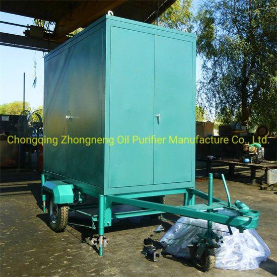 China Supplier Vacuum Transformer Oil Purification Machine