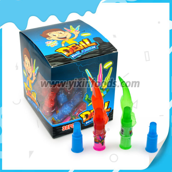 Light Nail Toy Finger Hard Candy