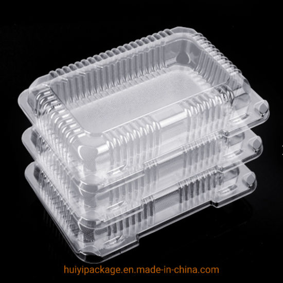 China Disposable Plastic Food Packaging Tray Cake Container Fruit Box China Plastic Packaging Packaging Tray