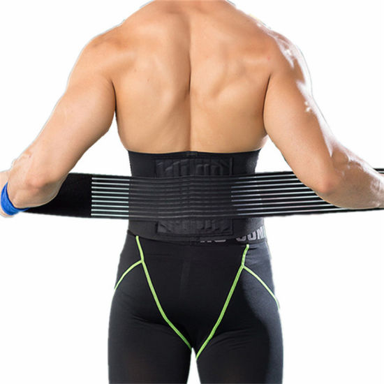 Comfortable Stabilizing Breathable Mesh Panels Lumbar Back Brace