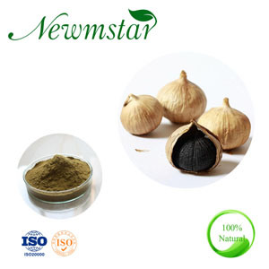 Hot Sale Black Garlic Extract Powder for Food Additive, with 5% Allicin, Animal Feeds or Foods Supplement pictures & photos