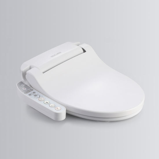Smart Toilet with Seat Heating and Warm Air Drying
