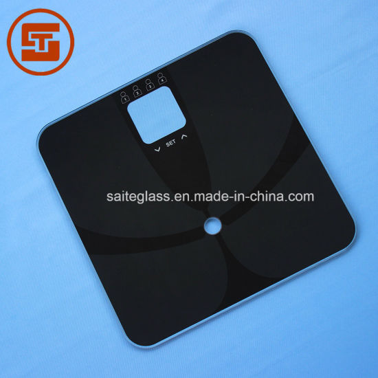 Bathroom Electronic Body Baby Weighing Scale Tempered Glass Panel