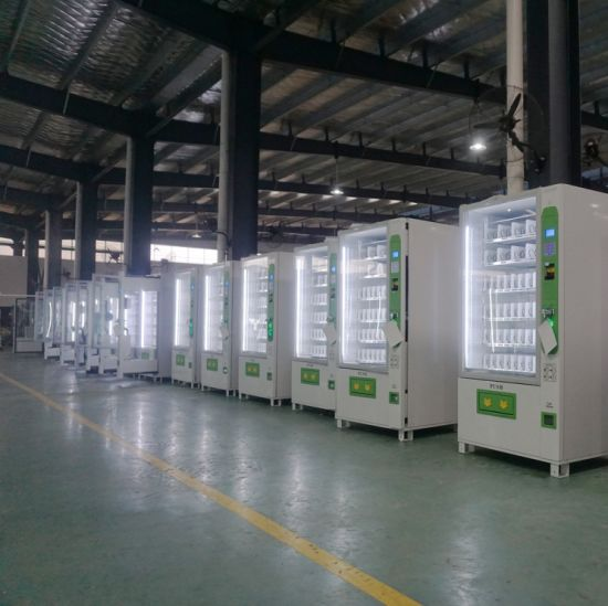 Tcn Snack Beverage Cold Drink Beer Milk Automatic Combo Vending Machine with Ce and ISO9001 Certificate pictures & photos