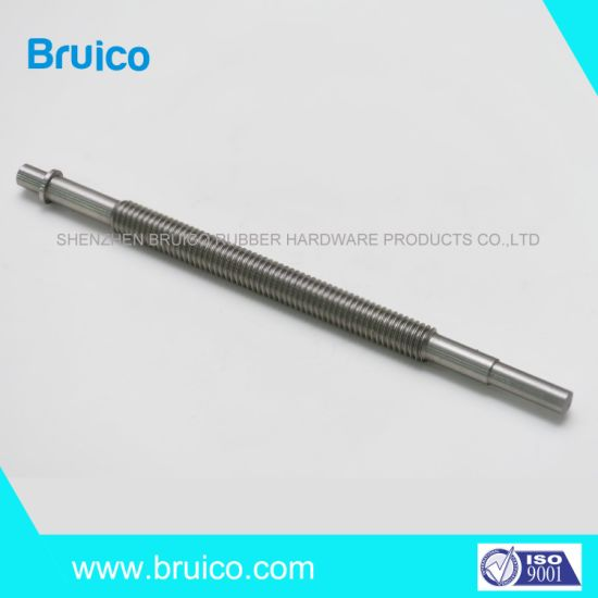 Minus 0.005mm Tolerance CNC Turning Customized CNC Turned Precision Alloy Steel Axles