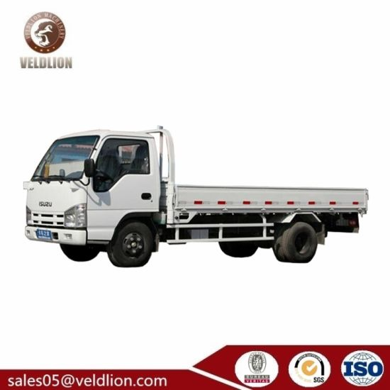 Isuzu 100p 1 8t - 5t Small Flatbed Truck, Cargo Flatbed Truck