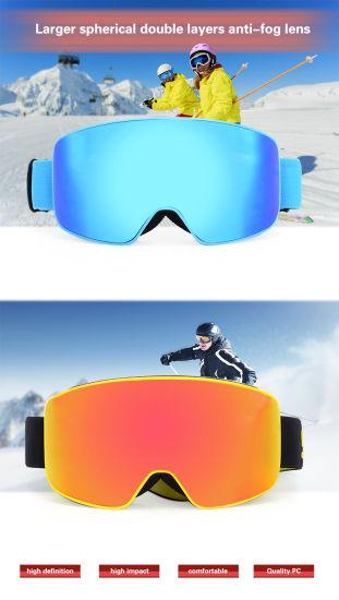 93126f0134 Premium UV 400 Protective Ski Glasses Anti Fog Snowboard Goggles Best  Selling New Design Snow Ski Goggles
