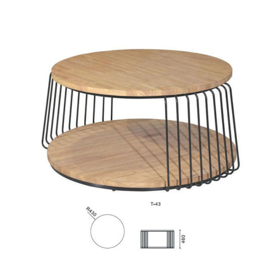 Magnificent Hot Selling Wooden Side Tables With Metal Frame Nesting Pdpeps Interior Chair Design Pdpepsorg