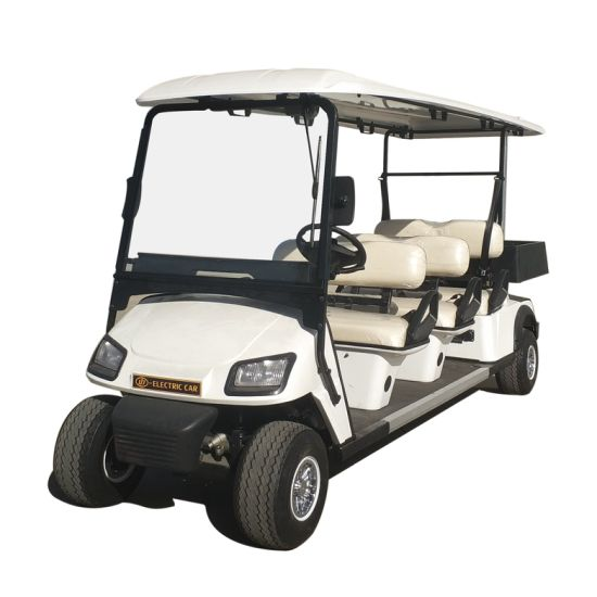 6 Seater Battery Powered Car for Hotel
