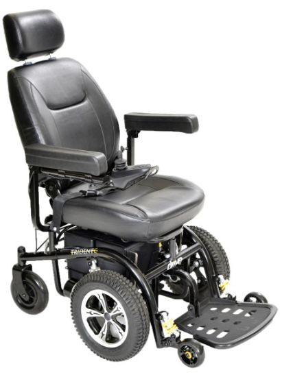 250W Motors Foldable Lightweight Electric Wheelchair Prices
