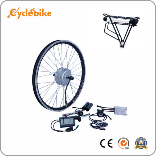 China 20inch Front Wheel 36V350W Gared Blcd Motor E Bicycle Kit for