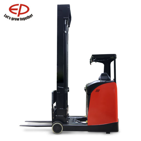 1 6 Narrow Aisles Ton Electric Sit-Down Reach Truck Forklift (CQD16RVF)