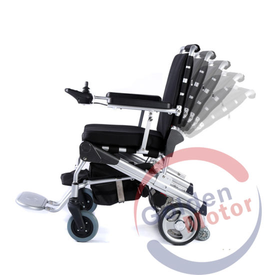 Lightweight Foldable Power Mobility Scooter Wheelchair with LFP Battery pictures & photos