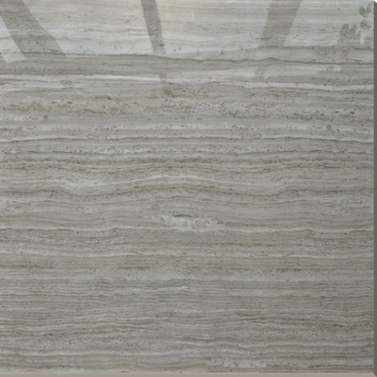 China Mediterranean Style Waterproof Grey Wood Grain Travertine