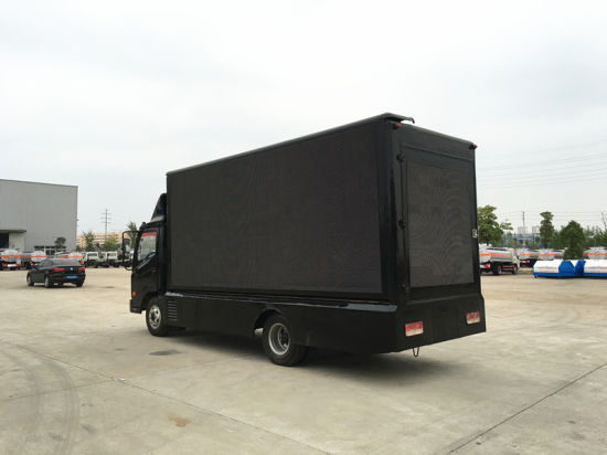 Forland P8 Outdoor Digital Mobile LED Billboard Truck with Three Full Color  LED Screen Hot Sale in UAE