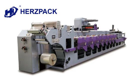 Automatic in-Line Modular Flexo Printing Machine for PVC /BOPP/ CPP/ PE Paper