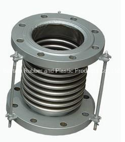 Metal Bellows Expansion Joint with Flange End Corrugated Metal Bellows Expansion Joint with Stainless Steel Flange