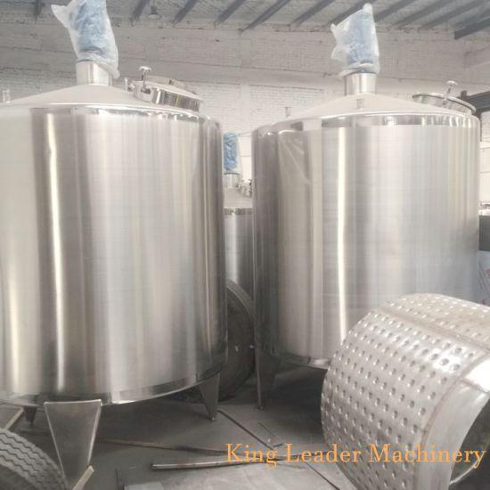 Sanitary Electric Heating Blending Tank Mixer