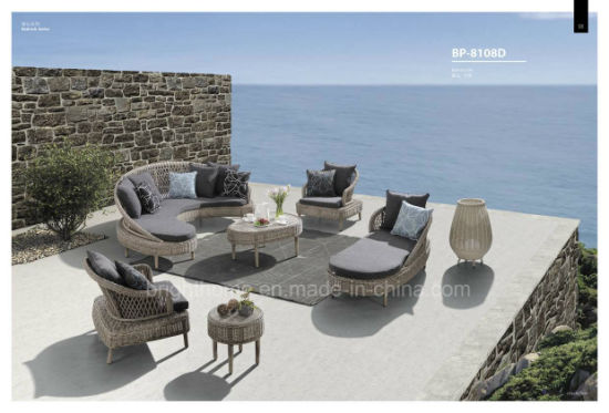Modern Patio Garden Rattan Outdoor Furniture Resin Wicker Sofa Furniture