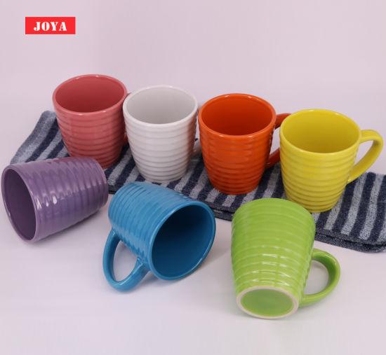 Wholesale Thread Shape 12 Oz Ceramic Mug